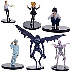DEATH NOTE – SET 6 FIGURAS PVC 7-20cm / 6 PVC FIGURES SET DEATH NOTE