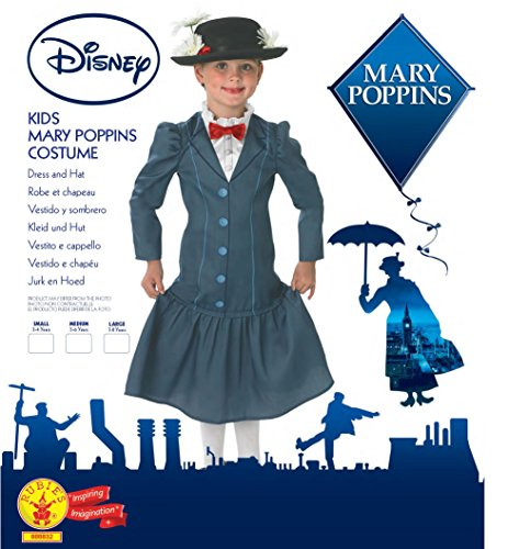 Imagen de mary poppins  disney  niños disfraz  grande  128cm alternativa