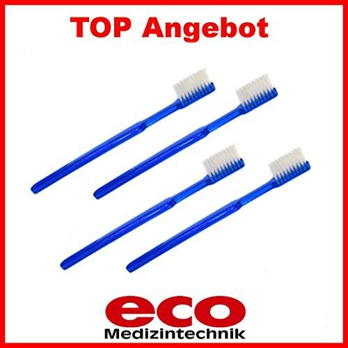10 Stück EcoCare® Einmalzahnbürsten mit Zahnpasta Einwegzahnbürste Zahnbürste Reisezahnbürste