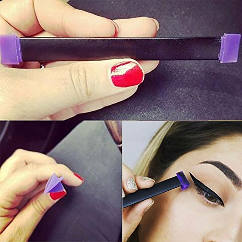 MLMSY Eyeliner Stamp Seal Easy to Makeup Tool for Eye Wing Repeatable Use Smokey Eye Stencil Professional Cat Eye Liner Eye Shadow For Everyone from Beginner to Professionals (Large)