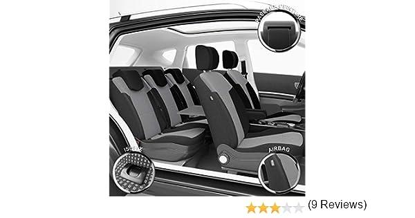 Montage Rapide Sur Mesure Finition Haut de Gamme DBS 1011073 Housse de si/ège Auto // Voiture Compatible Airbag Isofix