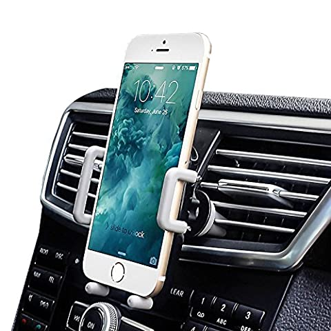 Car Vent holder, iAmotus Universal Car Air Vent Mount, 360°Adjustment Car Phone Holder for iPhone 8 7 7 SE 6s 6 Plus 6 5s 5 4s 4 Samsung Galaxy S8 S7 S6 LG Nexus Sony Nokia and