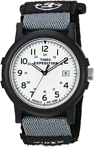Timex Unisex-Armbanduhr Expedition Camper Analog Nylon T49713