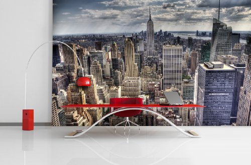 XXL-TAPETEN SKYLINE OF NEW YORK - PAPEL PINTADO  DISEñO DE NUEVA YORK