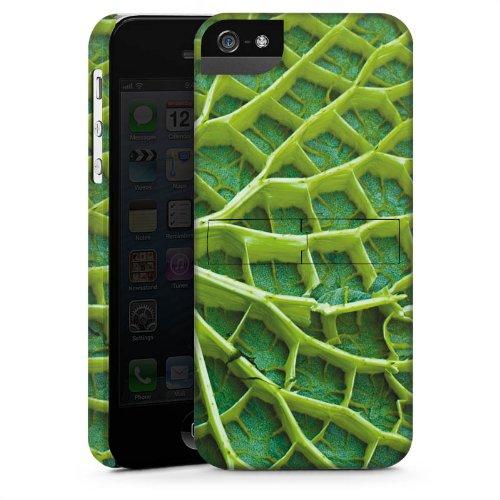 Apple iPhone 6 Housse Étui Silicone Coque Protection Feuille de nénuphar Plante Nature CasStandup blanc