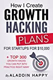 Growth Hacking Plans: How I create Growth Hacking Plans for startups for $10,000 + TOP 300 growth hacks you can put into practice right away (English Edition)