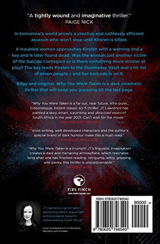 Why You Were Taken: A Futuristic Thriller: Volume 1 (When Tomorrow Calls)