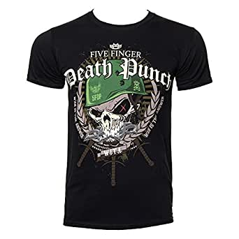 Official T Shirt FIVE FINGER DEATH PUNCH Warhead USA S