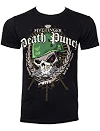 Five Finger Death Punch War Is The Answer T-Shirt Mens Black Music Top Tee Shirt