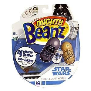 Mighty Beanz � Star Wars � Pack de 4 Star Wars Mighty Beanz (Import Royaume Uni)