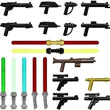 Galaxyarms - Juego de 20 armas: dinamitero y espadas