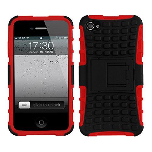 CruzerLite Spi-Force Schutzhülle für das iPhone 4 blau rot