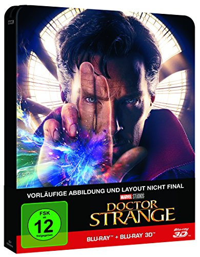 Doctor Strange (2D+3D) Steelbook [3D Blu-ray] [Limited Edition]