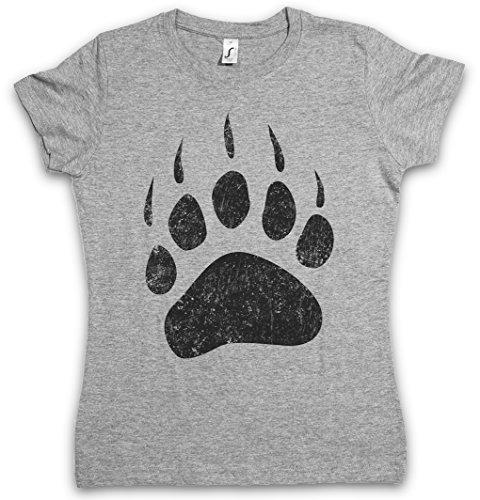 Bear Paw Damen T-Shirt - Größen XS - 2XL (Shirts Hunting Redneck)