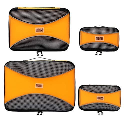 PRO Packwürfel für die Reise - Gepäck Organizer Taschen, Zubehör - Ultraleicht -