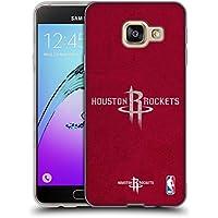 Officiel NBA Affligé Houston Rockets Étui Coque en Gel molle pour Samsung Galaxy A3 (2016)