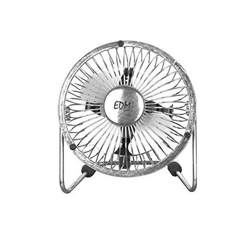 Ventilador de sobremesa mini industrial 10cm EDM 33930