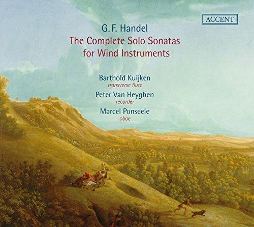 Handel: The Complete Sonatas for Wind Instruments by Barthold Kuijken