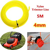 Bluelover 5m giardino universale Brush Cutter rotondo Nylon Trimmer Line tosaerba (Laser Chiave Cutter)
