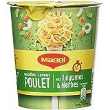 Maggi Cup Nouilles Poulet 61,5 g - Lot de 4