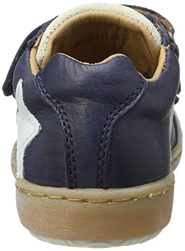 Bisgaard - Klettschuhe, Scarpe da ginnastica Unisex – Bambini Blau (600 Blue)