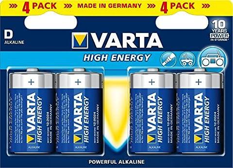 Varta High Energy Batteries D 4