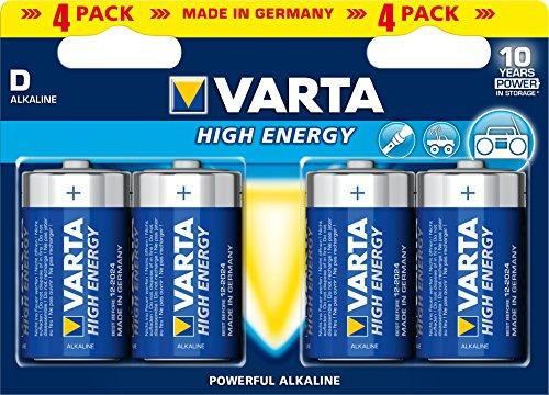 Varta High Energy Batterie (Mono D, 1,5V)