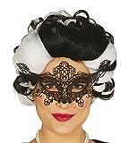 Guirca Fiestas GUI12715 - bestickte Schwarze Maske