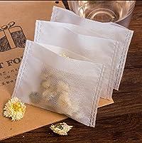 Generic 10x12cm : Non-woven Fabrics Empty Tea Bags for Tea Pot Tisanes Relish Teabags Filtering Herb Loose Tea