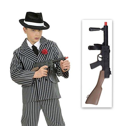 r Maschinengewehr mit Sound Soldaten Spielzeuggewehr Sturmgewehr Army Rifle Fasching Ganove Waffe Knarre Flinte Armee Mottoparty Accessoire Karneval Kostüm Zubehör (Army Kinder Kostüm)