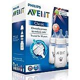 Philips AVENT 1m + CLASSIC biberones con sistema anticólicos Triple Pack 260ml/255libre de BPA