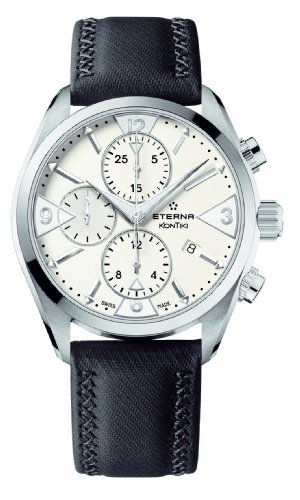 Eterna Men's 1240.41.63.1184 Kontiki Stainless steel Chronograph Watch