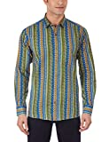 Dennison Men's Casual Shirt (SS-16-78_38_Multicolour)