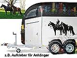 Tiere | Auto - Anhänger Aufkleber | 100% individuell nach Foto Vorlage | Wunschtext | Geschenk | Portrait