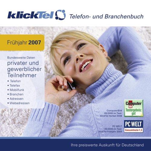 KlickTel Frühjahr 2007