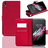 Ordica DE® Alcatel One Touch Idol 3 4.7 Hülle Flip Case