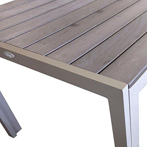 wohaga-esszimmertisch-esstisch-gartentisch-aluminiumgestell-mit-niveauausgleich-polywood-tischplatte-in-der-farbe-champagner-205x90x74cm-gartenmoebel-esszimmermoebel-2