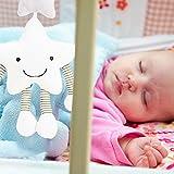 Househome,Kinderwagen Bett hängen, Baby niedliche Plüsch Aktivität Krippe Kinderwagen Kuscheltiere Kaninchen Stil mehr als 3m/9.84ft