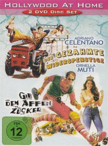 Bild von Celentano : Der gezähmte Widerspenstige / Gib dem Affen Zucker - 2 DVD Set