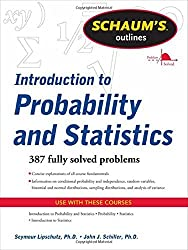 Schaum's Outline of Introduction to Probability and Statistics (Schaum's Outline Series) by Seymour Lipschutz (2011-10-01)
