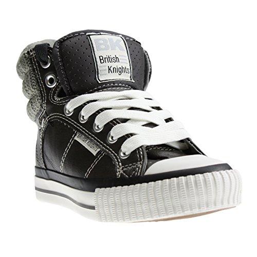 BK - Atoll grey/off white, B26-3707K-02, High-Top Kids Sneaker grau/weiß Navy (ngrey/off wht 2)
