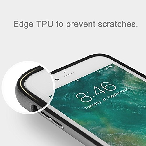 YAN Für iPhone 7 Plus künstlerische Carbon Fiber Texture TPU + PC Schutzhülle mit Sling Hole ( Color : Rose gold ) Gold