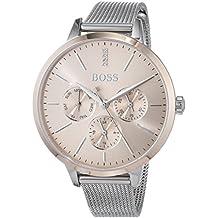 81399d19f667 Hugo BOSS Reloj Multiesfera para Mujer de Cuarzo con Correa en Acero  Inoxidable 1502423