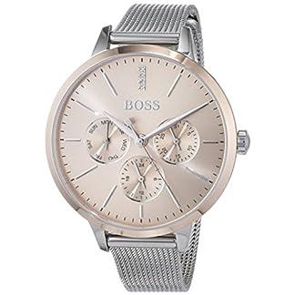 Hugo BOSS Reloj Multiesfera para Mujer de Cuarzo con Correa en Acero Inoxidable 1502423