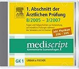 Mediscript, Kommentierte Examensfragen, GK 1, CD-ROMs : 1. Abschnitt der �rztlichen Pr�fung 8/2005-3/2007 inkl. Physikum 3/96-3/05, 1 CD-ROM F�r Windows NT, 2000, XP, Windows Vista Bild