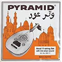 Pyramid Oud Strings Syrian Tuning 11 Strings