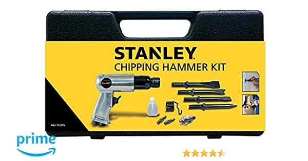 Pack of 34 Stanley Accessories for Air Compressor 8221074STN Air Tool Kit