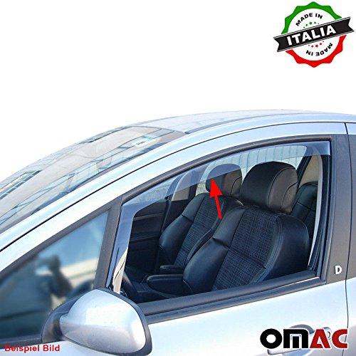 Omac GmbH Honda Civic Coupe Windabweiser Regenabweiser 2 tlg Satz Vorne 1992-1995 (Honda Civic Coupe 1995)