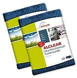 2er Set ALCLEAR Microfasertuch Trockenwunder -...