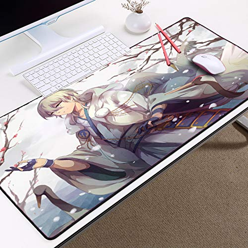 Computer Gaming mousepad Professionelle Muster Mauspad To Tabletop Anime Style Mauspad 3mm * 80x30cm (Alles In Einem Table-top-computer)